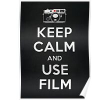 Keep Calm And Use Film Poster