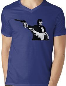 Léon: The Professional Mens V-Neck T-Shirt