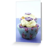 Topped with a Flower Greeting Card