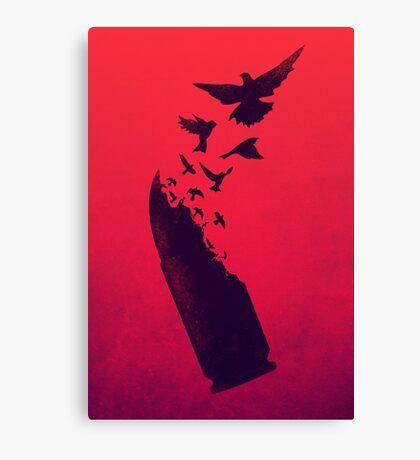 Bullet Birds Canvas Print