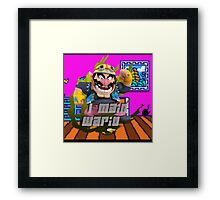 I MAIN WARIO Framed Print