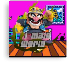 I MAIN WARIO Canvas Print