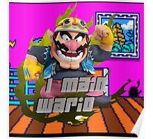 I MAIN WARIO Poster