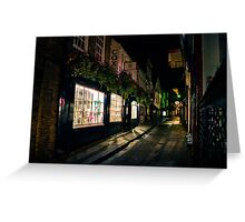 The Shambles Greeting Card