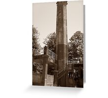 The Tower. Greeting Card