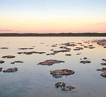 Lake Thetis sunset by Jennie  Stock