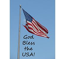 """God Bless the USA!""  by Carter L. Shepard Photographic Print"
