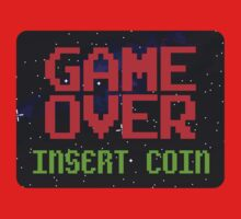 Game Over, Insert Coin Kids Clothes