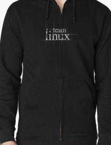 Team Linux Zipped Hoodie