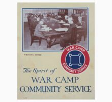 The spirit of War Camp Community Service One Piece - Short Sleeve