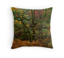 Spirit of Leaves Throw Pillow