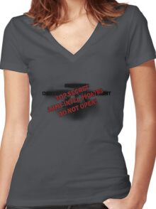 Shirt of the Covenant Women's Fitted V-Neck T-Shirt