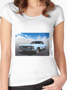 64 Buick Women's Fitted Scoop T-Shirt