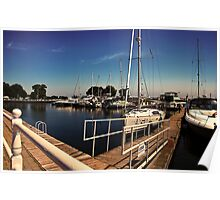 Cobourg Harbour Poster