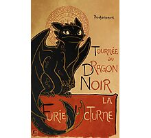 Le Dragon Noir Photographic Print