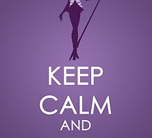Keep Calm - Sailor Saturn Posters 2 by SimplySM