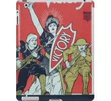 Dont dream of victory Fight for it! Buy Liberty Bonds iPad Case/Skin