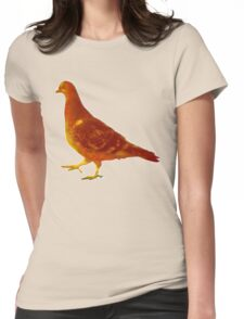 Pigeon #2 Womens Fitted T-Shirt