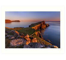 Neist Point. Isle of Skye. Scotland. Art Print