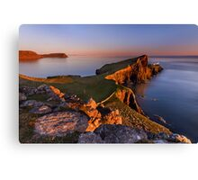 Neist Point. Isle of Skye. Scotland. Canvas Print