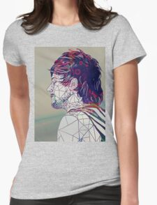 Geometric Louis Womens Fitted T-Shirt