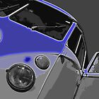 VW Split Screen Blue by Joe Stallard