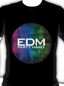 EDM PARTY HARD (COLOURS) T-Shirt