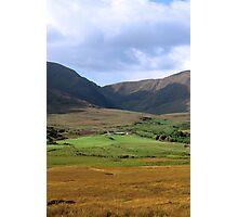 beautiful lush farm in ireland Photographic Print