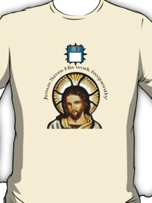 Jesus Saves (His work frequently) T-Shirt
