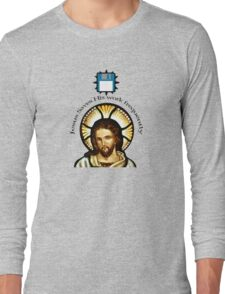 Jesus Saves (His work frequently) Long Sleeve T-Shirt