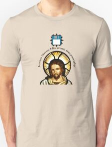 Jesus Saves (His work frequently) Unisex T-Shirt