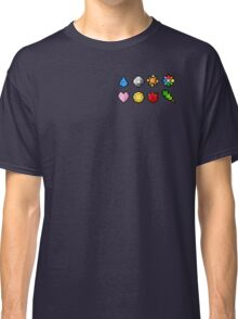 Pokemon Badge Sprites (Kanto Only) Classic T-Shirt