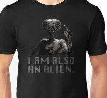 """Lisbeth's """"I AM ALSO AN ALIEN."""" T-Shirt Unisex T-Shirt"""