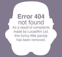 Error 404 Kids Clothes