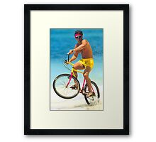 Chris Froome - Bronze Framed Print