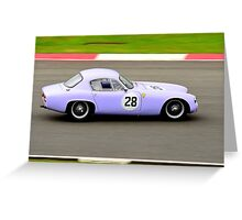Lotus Elite No 28 Greeting Card