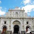 Cathedral at Antigua, Guatemala by Marie Anne Hale