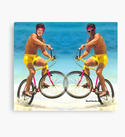 Wiggins and Froome - Team GB Canvas Print