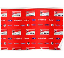 Ducati interview banner Poster