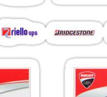 Ducati interview banner Sticker