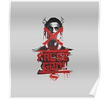 Batman v Superman - False God Poster