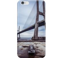 Vasco De Gama Bridge, Lisbon, Portugal iPhone Case/Skin