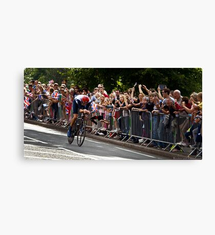 Go Wiggins Go! Go! Go for Gold!!! Canvas Print
