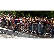 Go Wiggins Go! Go! Go for Gold!!! Photographic Print