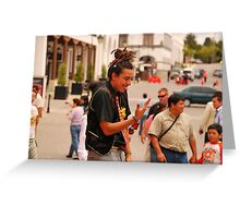 Guatemalan clown Greeting Card