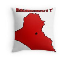 Who's Your Bagdaddy? (Red) Throw Pillow