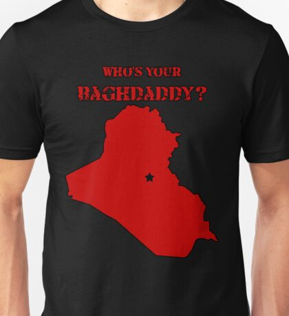 Who's Your Bagdaddy? (Red) Unisex T-Shirt