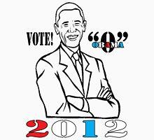 "OBAMA VOTE ""O"" Unisex T-Shirt"
