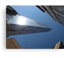 Looking up from Ground Zero Canvas Print