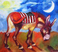 American Burro by Ellen Marcus